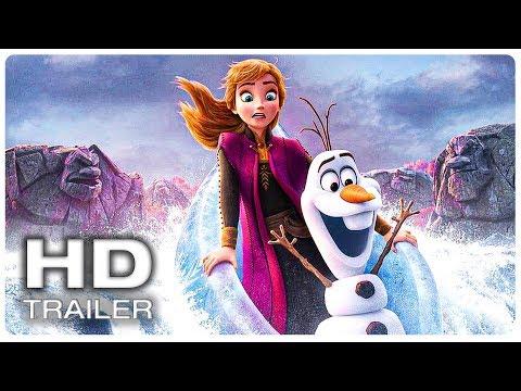FROZEN 2 All Movie CLIPS + Trailer (2019)