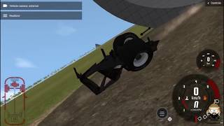 F1 car upside down on a tunnel?- BeamNG drive