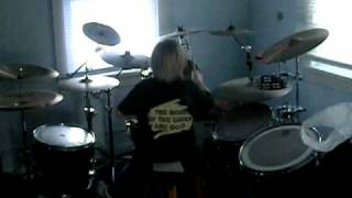 6 YEAR OLD DRUMMER PLAYING PORCUPINE TREE