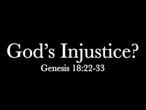 God's Injustice?