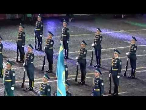 Kazakhstan performs at Moscow International Military Music festival Spasskaya Tower 2015