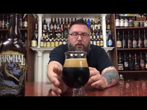 Make Massive Beer Reviews # 731 Seirra Nevada Brewing's Narwhal Imperial Stout Barrel Aged Images