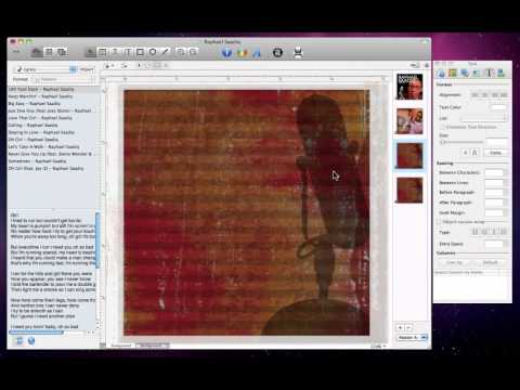 Disc Cover Tutorials - Multipage Booklets and Lyrics Import