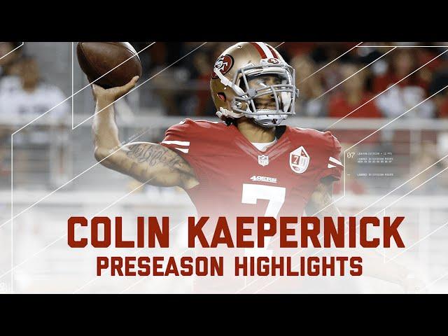 Colin Kaepernick Highlights | Packers vs. 49ers | NFL