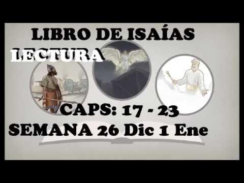 Semana 26 Dic A 1 Ene 2017 Isaías Caps: 17 A 23 Perlas Escondidas
