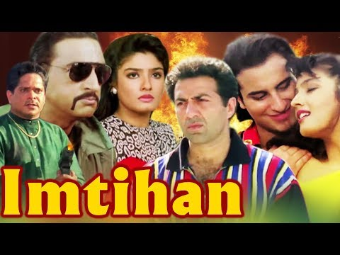 Imtihan Full Movie | Sunny Deol | Saif Ali Khan | Raveena Tandon | Hindi Action Movie