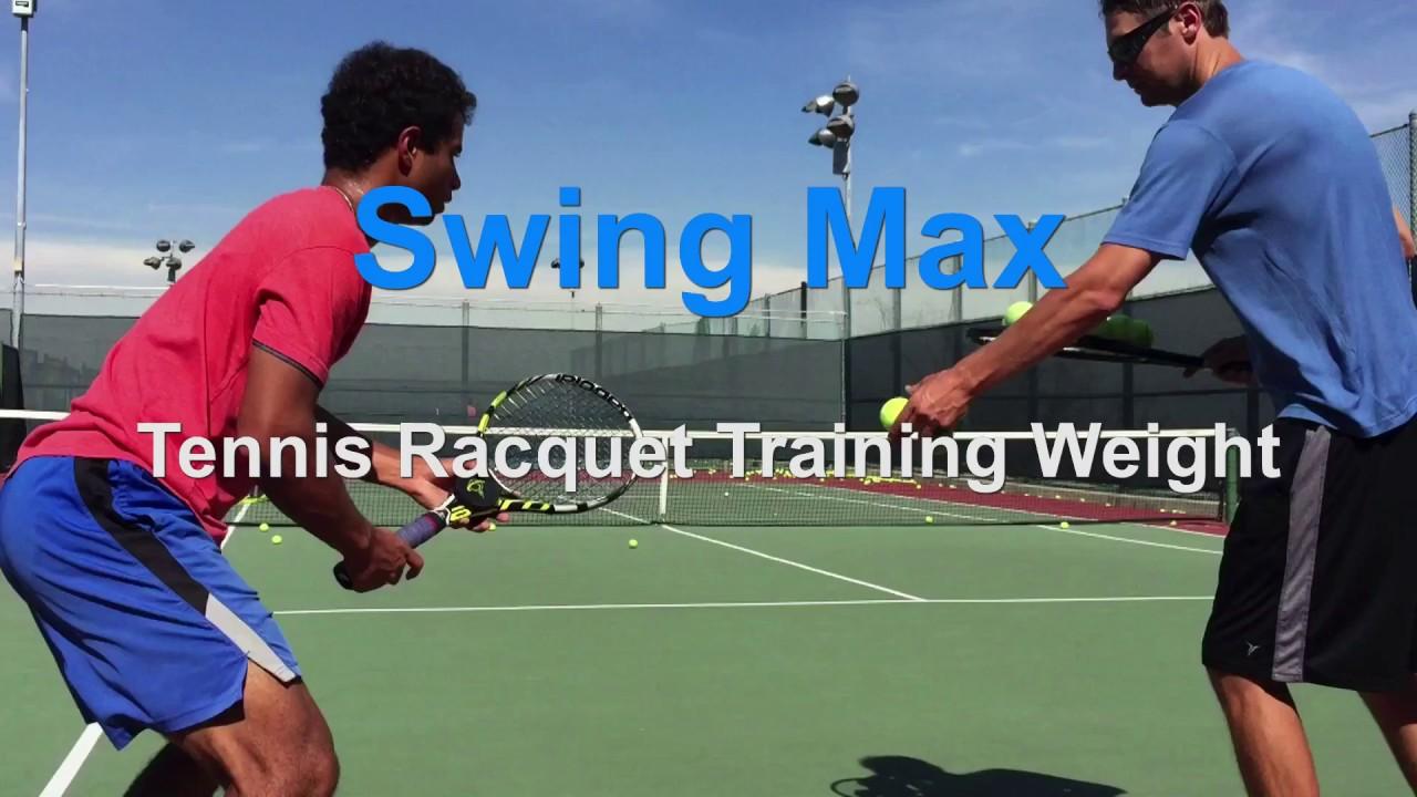 Swing Max Tennis Racquet Training Weight