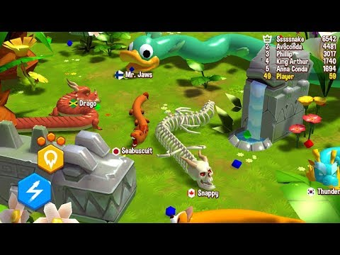 SNAKE RIVALS Gameplay New Arcade Games On Android 2019
