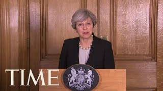 Prime Minister Theresa May Says U.K. Terror Threat Level Is Increased To