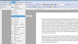 Seitenzahlen in openOffice einfügen | CHIP Praxistipp