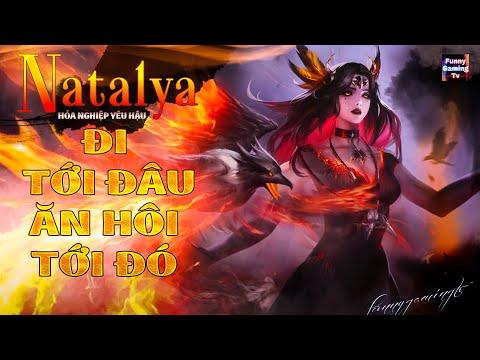 LIÊN QUÂN | Lần đầu tiên Natalya - Nghiệp Hỏa Yêu Hậu xuất hiện tại kênh FUNNY GAMING TV