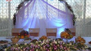 украшение зала на свадьбу цены Алматы