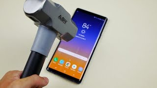 Download Video Samsung Galaxy Note 9 Hammer & Knife Test - Will it Explode? MP3 3GP MP4