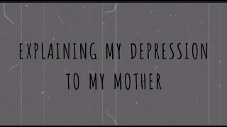 Explaining my depression to my mother // Sabrina Benaim // Audio // Spoken Poetry thumbnail