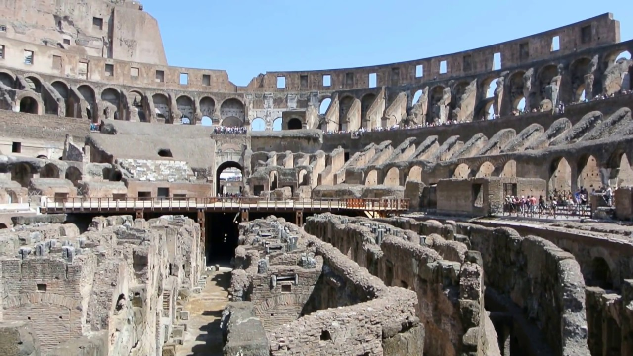 Lower View In Rome Coliseum / Colosseum
