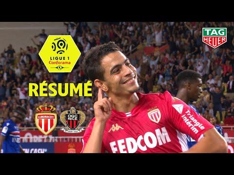AS Monaco - OGC Nice ( 3-1 ) - Résumé - (ASM - OGCN) / 2019-20