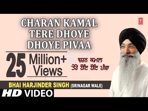 Charan Kamal Tere Dhoye Dhoye Pivaa - Bhai Harjinder Singh, Maninder Singh Ji