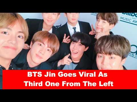 BTS Jin Goes Viral As Third One From The Left