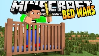 mcpe 0 14 3 bed wars minigame brand new maps minecraft pe pocket edition