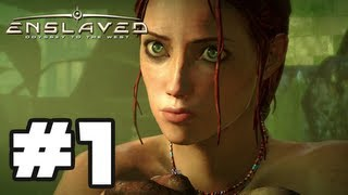 Enslaved Odyssey to the West - Gameplay Walkthrough Part 1 - Chapter 1: The Escape [HD] Xbox 360 PS3