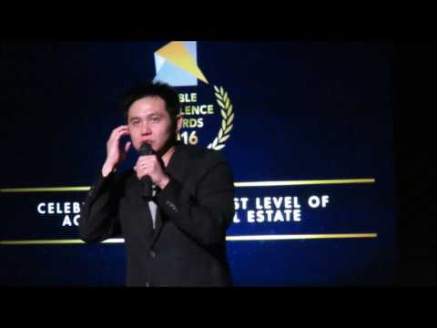 Comedian Douglas Lim @ Noble Awards