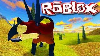"""Primal Life """"Roblox"""" (Gameplay/PT-BR) - Jogando De Tricerátopo! (#4)"""
