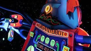 Buzz Lightyear Astro Blasters Disneyland 2017 Ride Thru HD