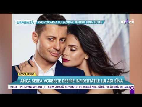 """Anca Serea, despre infidelitățile lui Adi Sînă: """"Locul meu nu îl va lua nimeni"""""""