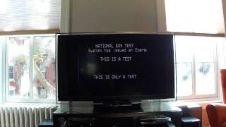 Emergency Alert System nationwide test (Time Warner Cable, NYC)