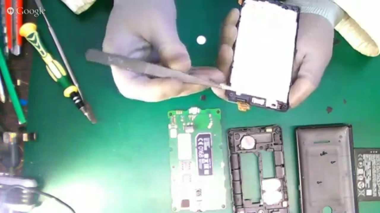 инструкция по разборке nokia lumia 520
