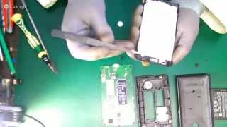 Lumia 435 замена стекла часть 1 (разборка)
