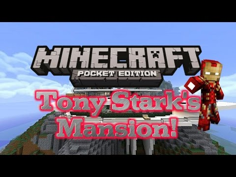 how to make a mansion in minecraft pocket edition survival