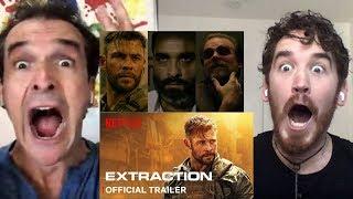 Extraction Trailer REACTION!!   Chris Hemsworth   Pankaj Tripathi