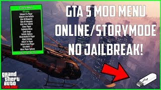 GTA 5: ONLINE/STORY MODE USB MOD MENU TUTORIAL! (All Consoles) | NEW 2019!