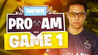 KINSTAAR TOP 2 EN SOLO ! 👑 FORTNITE E3 PRO-AM TOURNAMENT - WARM UP #1