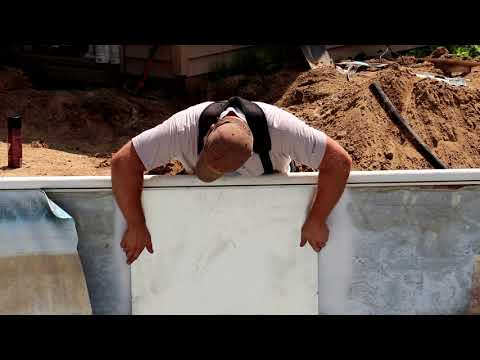 Pool Wall Disaster & How We Fixed It