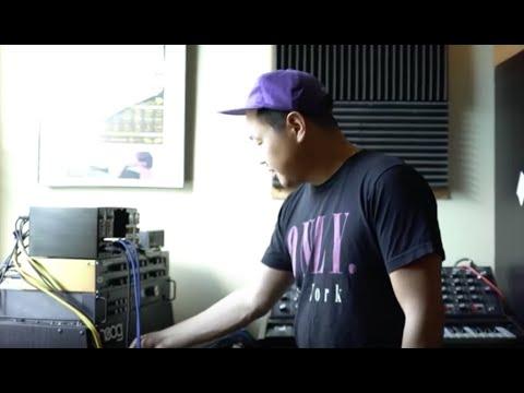 "Behind the Scenes. Kero Uno making ""Reflection Eternal"" (studio footage )"