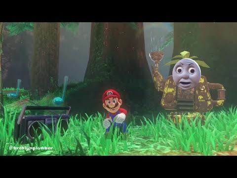 Mario dances to everything (Super Mario Odyssey)