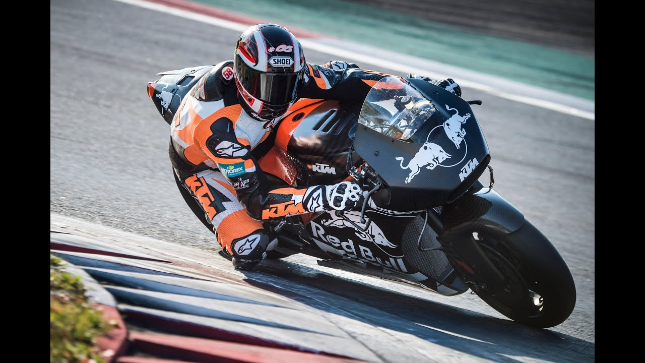 KTM RC16 MotoGP Bike Soundcheck Red Bull Ring Rollout  YouTube