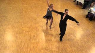Katharina & Johannes Paso Doble @ German World of Dance 2012 Wettbewerb Social Dancing Competition