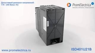 ISD401U21B Инвертор / частотный преобразователь (вход 220VAC) для мотора 0,4kW(, 2016-01-25T15:53:07.000Z)