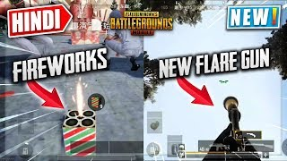 🔥PUBG Mobile New Flare Gun? & Fireworks🎆0.12 Update in Chinese Lightspeed | Details in Hindi