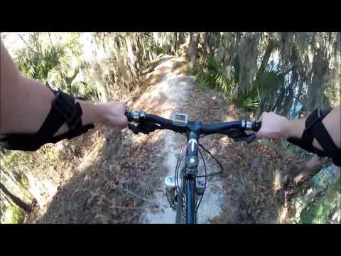 Loyce E. Harpe Park (Carter Road) Mountain Bike Trails GoPro HD