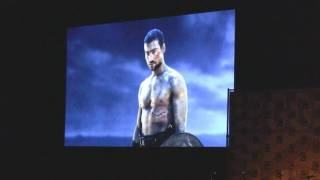 Spartacus season 2 Trailer and interview with Andy Whitfield comic con 2010