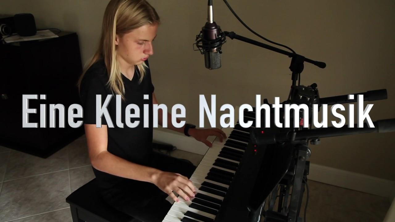 Mozart - A Little Night Music (Eine Kleine Nachtmusik) - Piano Cover by Blended Mozart