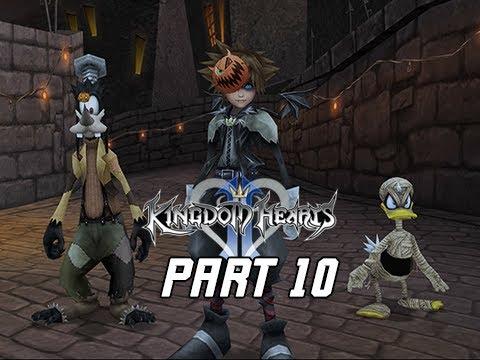kingdom hearts 25 final mix walkthrough part 10 halloween town kingdom hearts 2 ps4 - Roxas Halloween Town
