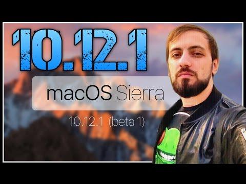 ОБЗОР И УСТАНОВКА Macos Sierra 10.12.1 Октябрь 2016 + NVRAM  Mac как сделать Сброс памяти