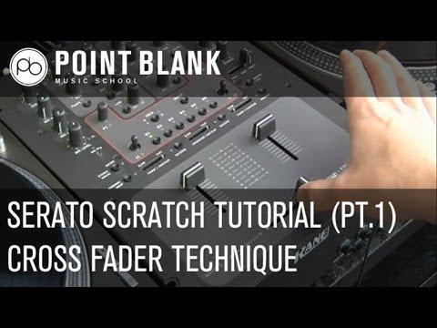 Serato Scratch Tutorial (pt1) - Cross Fader Technique