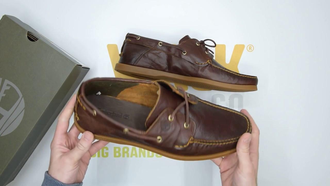 Timberland Men's Classic 2 Eye Boat Shoe YouTube