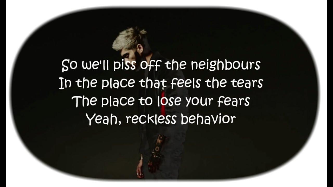 Reckless Behavior Lyrics